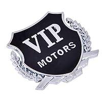 クライスラーアスペンパシフィカPTクルーザーセブリングタウンカントリーカースタイリングのために2個の3DメタルカースタイリングVIPエンブレム: