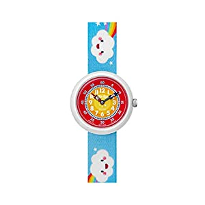 [フリック フラック]FLIK FLAK 腕時計 Story Time (ストーリータイム) CLOUDBOW (クラウドボウ) ガールズ FBNP115 FBNP115 ガールズ 【正規輸入品】