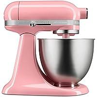 KitchenAid キッチンエイド スタンドミキサー KSM3311XGU Artisan Mini Series Tilt-Head Stand Mixer, 3.5 quart [並行輸入品] (Guava Glaze)
