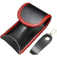 AILダーツケース ネイティブドロップインケースプレーン ブラック 革 皮 レザー エイジング ソフトダーツ