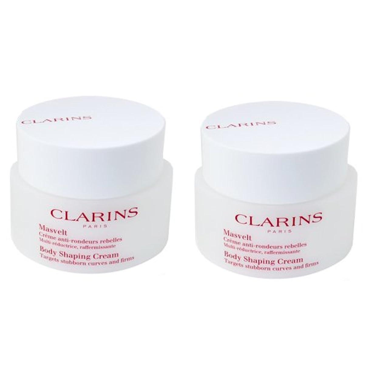 パッケージ広告主サイトラインクラランス CLARINS クレーム マスヴェルト 200mL 【2個セット】 【並行輸入品】