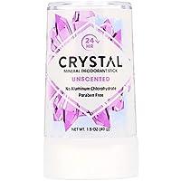 Crystal Body Deodorant, ミネラルデオドラントスティック、無香料、1.5 oz (40 g)X 4 パック(並行輸入品)