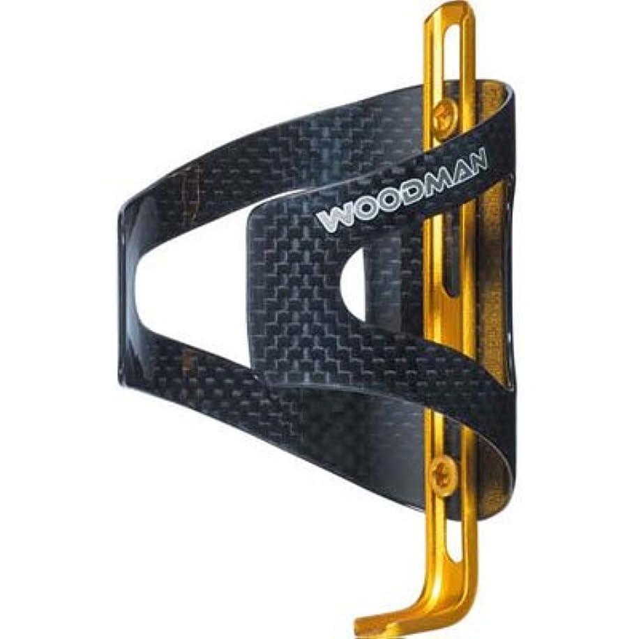 遊具延期する商標ウッドマン Carbo Cage AJ 3K カーボンボディ ゴールド(018281)