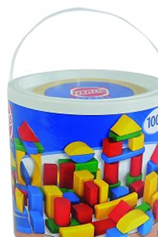 Heros Wooden Bricks 100 Pieces [並行輸入品]