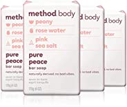 Method Experiential Bar Soap, 4 Count