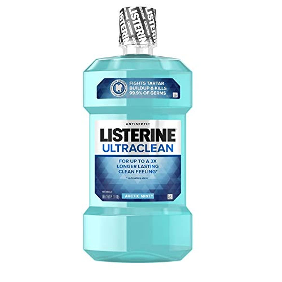 ジョイントクラフト誇張するListerine UltraClean Mouthwash, Arctic Mint,1.5 Liters by Listerine
