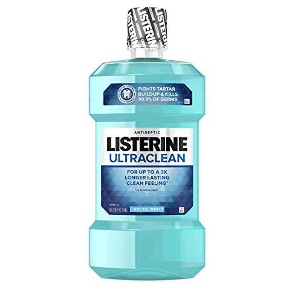 について販売員頂点Listerine UltraClean Mouthwash, Arctic Mint,1.5 Liters by Listerine