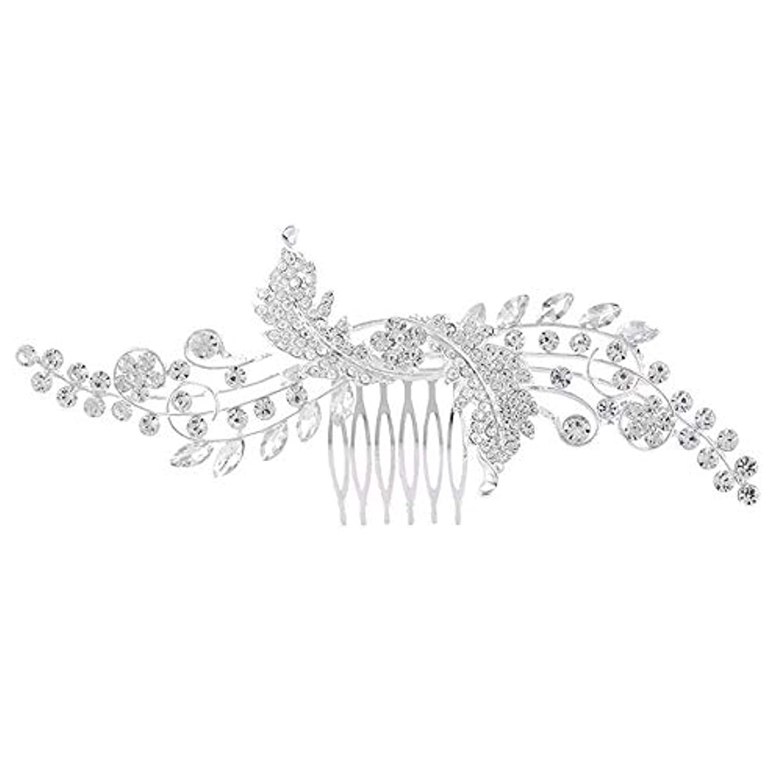 登録する剪断ストレスブライダルジュエリー_ブライダルヘアコームコームコームブライダルジュエリー韓国の合金結婚式クラウン工場卸売