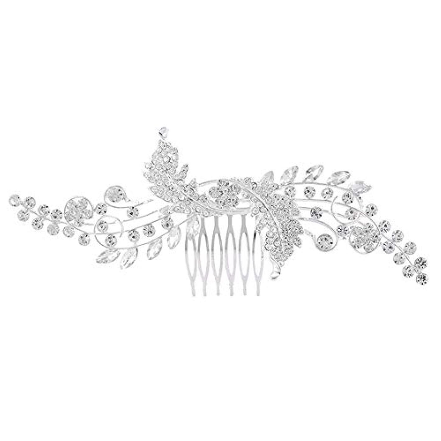 届ける太平洋諸島繁栄ブライダルジュエリー_ブライダルヘアコームコームコームブライダルジュエリー韓国の合金結婚式クラウン工場卸売
