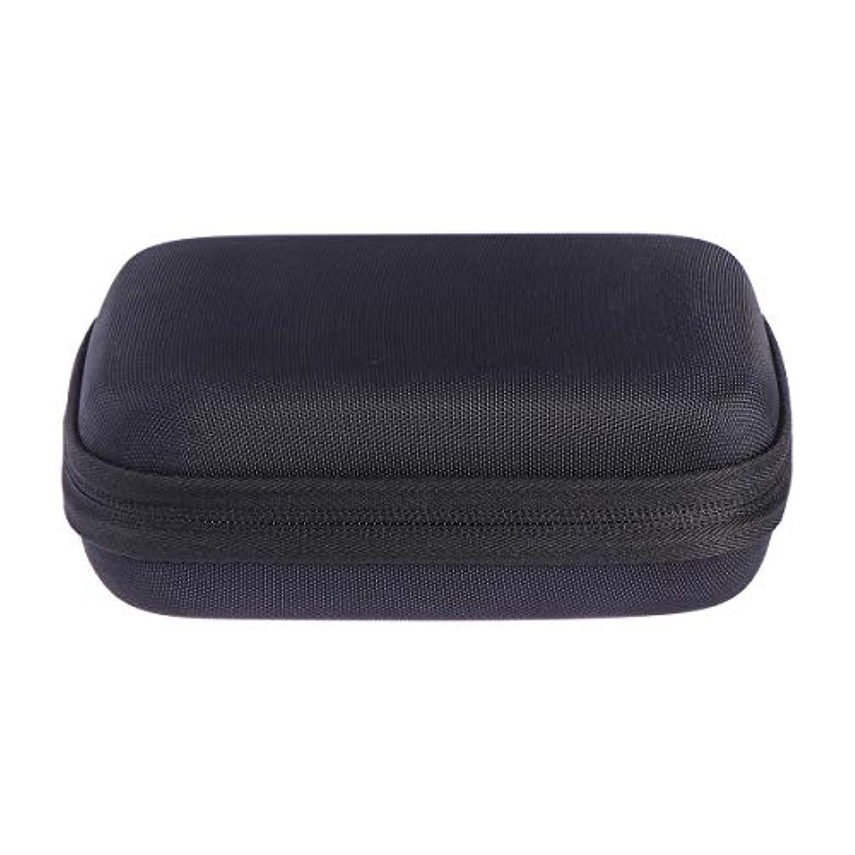 転用エクスタシーネストSUPVOX エッセンシャルオイルバッグキャリングケースオーガナイザーローラーボトル収納袋10スロットハードシェルオイルケースホルダー(ブラック)