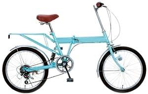 マイパラス(MY PALLAS) 折畳自転車20インチ M-201-BL パールスカイブルー