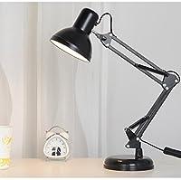 YJH+ 目の保護テーブルランプの学生の机の寮の部屋を学ぶベッドルームの電荷は、 美しく寛大な ( 色 : B )
