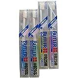 12本 サンスター バトラー 歯ブラシ #025S/#025M (S(ソフト))