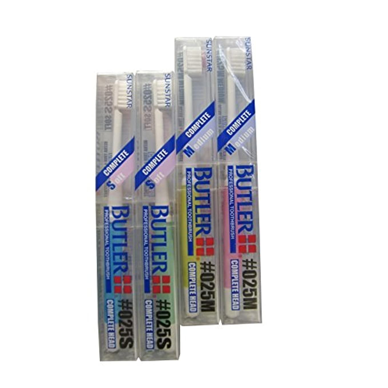 適度なうまくやる()ブレーキ12本 サンスター バトラー 歯ブラシ #025S/#025M (S(ソフト))