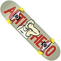 ANTIHERO アンタイヒーロー 【FACE MINI GRY Complete Deck】 7.3(inch) SKATEBOARD スケボー スケート コンプリート 完成品 アンチヒーロー キッズ Kids ユース 子供用