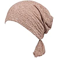 WarmGo 2pc/Pack -1PC/Pack Chemo Headwear Women,Cotton Chemo Caps Abbey Cap Cancer Headwear Hair Loss