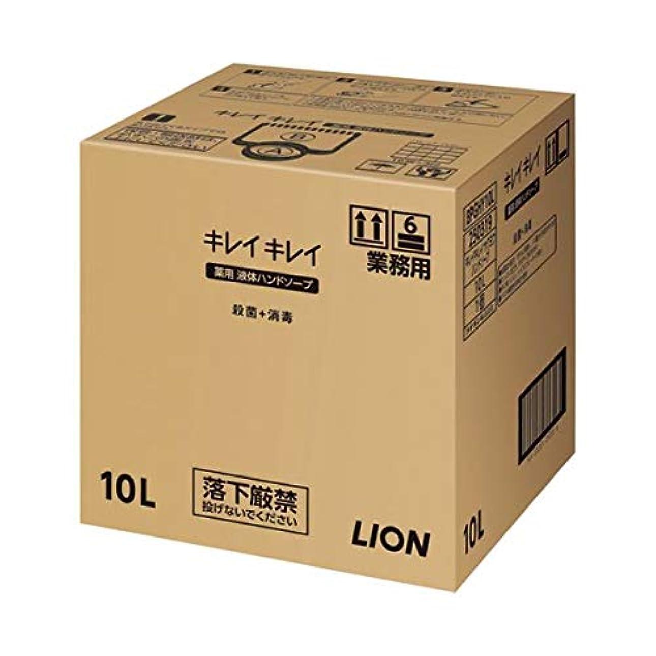 野心的分類協同ライオン キレイキレイ 薬用ハンドソープ 10L ダイエット 健康 衛生用品 ハンドソープ 14067381 [並行輸入品]
