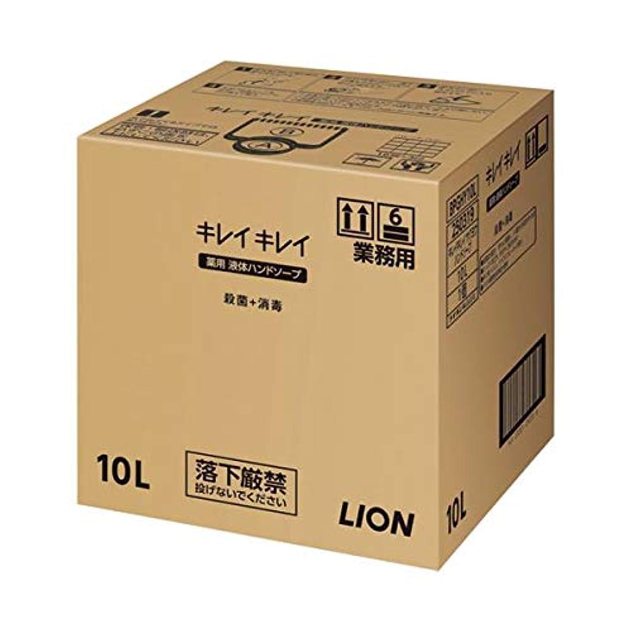 ライオン キレイキレイ 薬用ハンドソープ 10L ダイエット 健康 衛生用品 ハンドソープ 14067381 [並行輸入品]