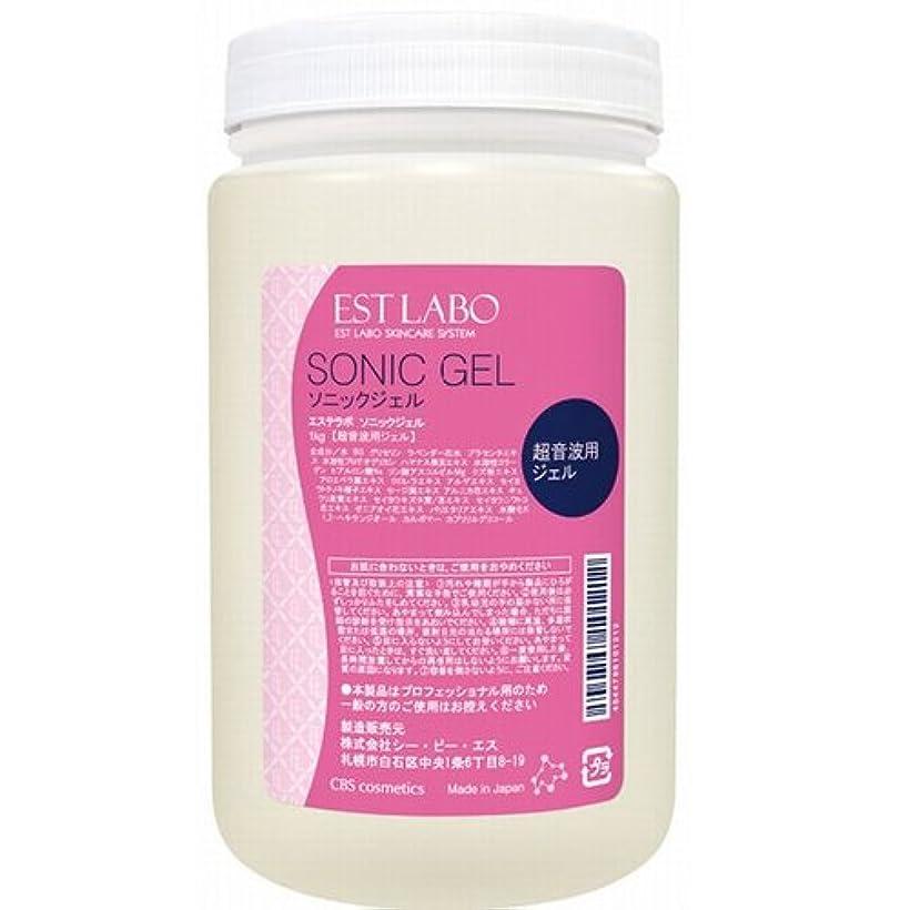 責める狼乳剤エステラボ ソニックジェル 1kg