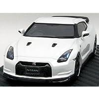 【hpi?racing】1/43 ニッサン GT-R (R35) スペックV ブリリアントホワイトパール