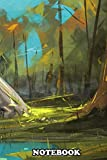 """Notebook: Digital Painting Of King Sword Excalibur , Journal for Writing, College Ruled Size 6"""" x 9"""", 110 Pages"""