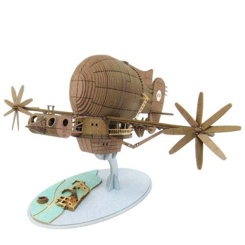 스튜디오 지브리 시리즈 천공의 성 라퓨타 타이거 MOS 1/300스케일 종이공예 MK07-17-MK07-17