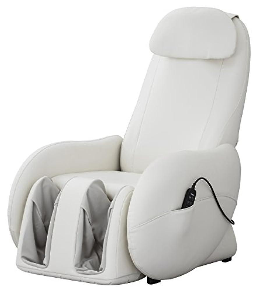 感心する熟すリア王スライヴ くつろぎ指定席Light マッサージチェア CHD-3700WH ホワイト 正規品 おしゃれ コンパクト 小型