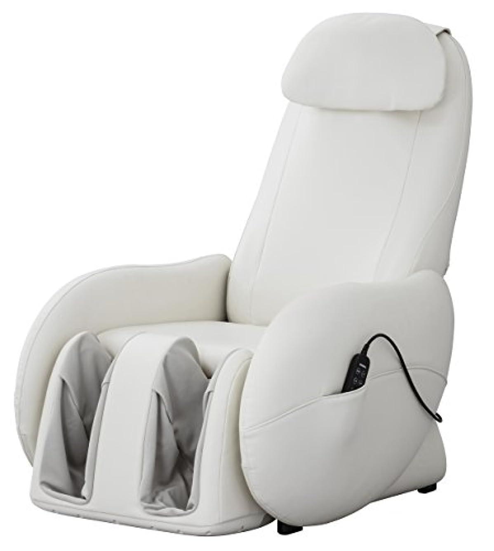 バーマド筋書くスライヴ くつろぎ指定席Light マッサージチェア CHD-3700WH ホワイト 正規品 おしゃれ コンパクト 小型