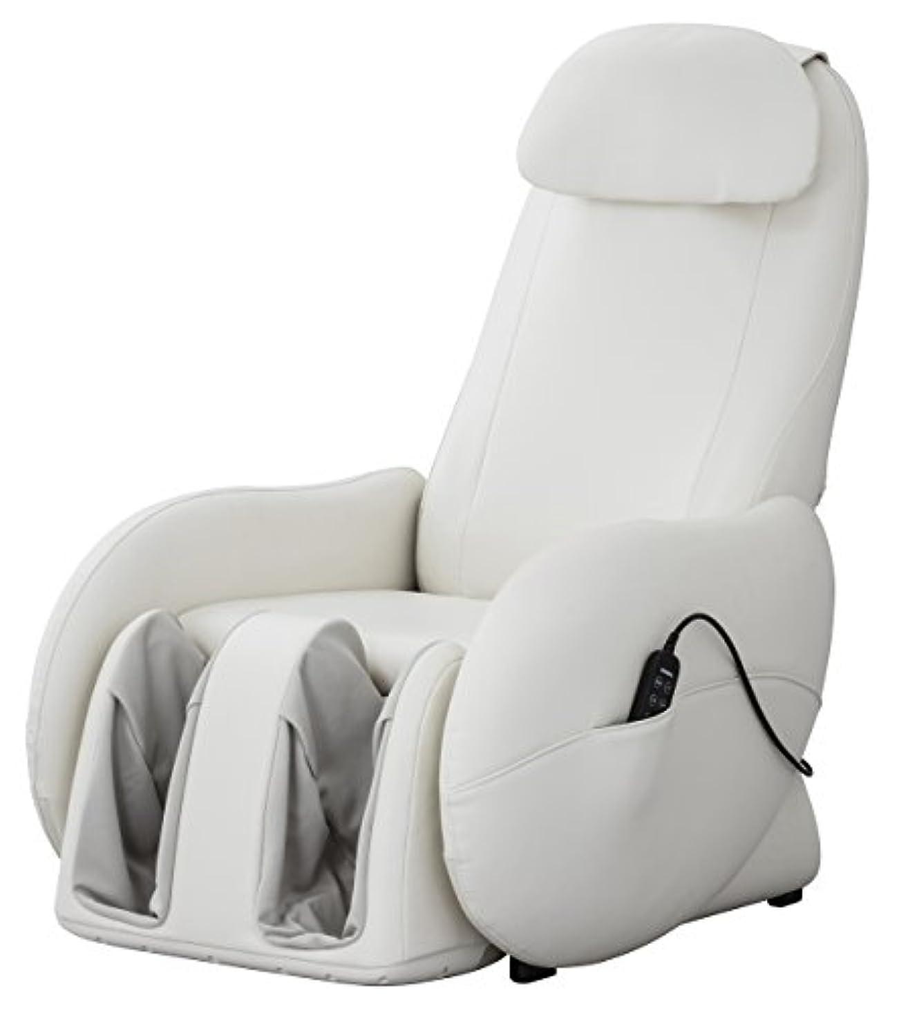 啓示ビリー議論するスライヴ くつろぎ指定席Light マッサージチェア CHD-3700WH ホワイト 正規品 おしゃれ コンパクト 小型