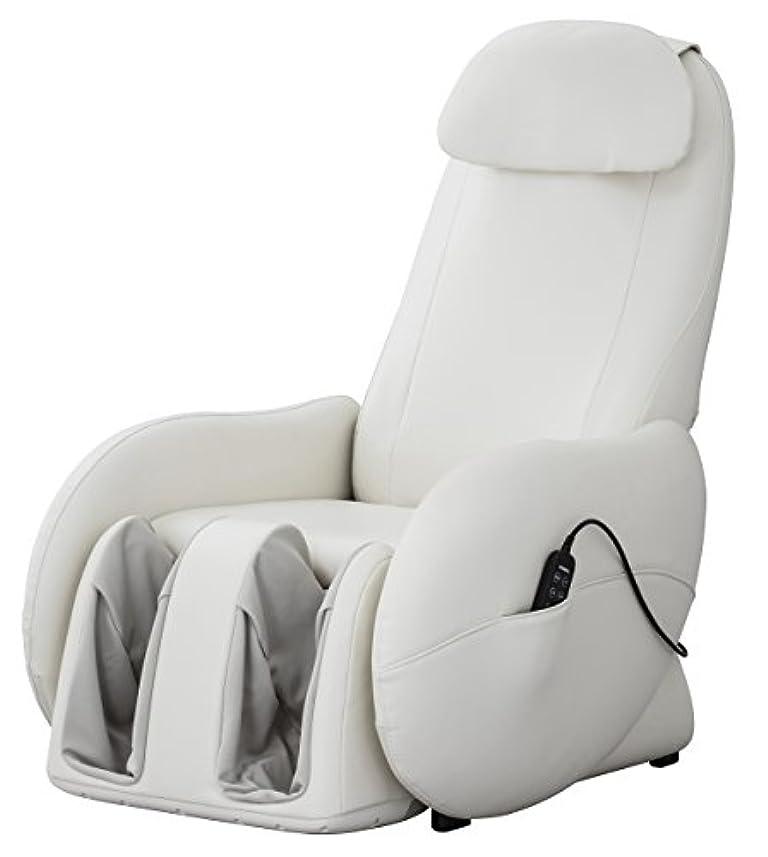 住所冷笑するカフェテリアスライヴ くつろぎ指定席Light マッサージチェア CHD-3700WH ホワイト 正規品 おしゃれ コンパクト 小型