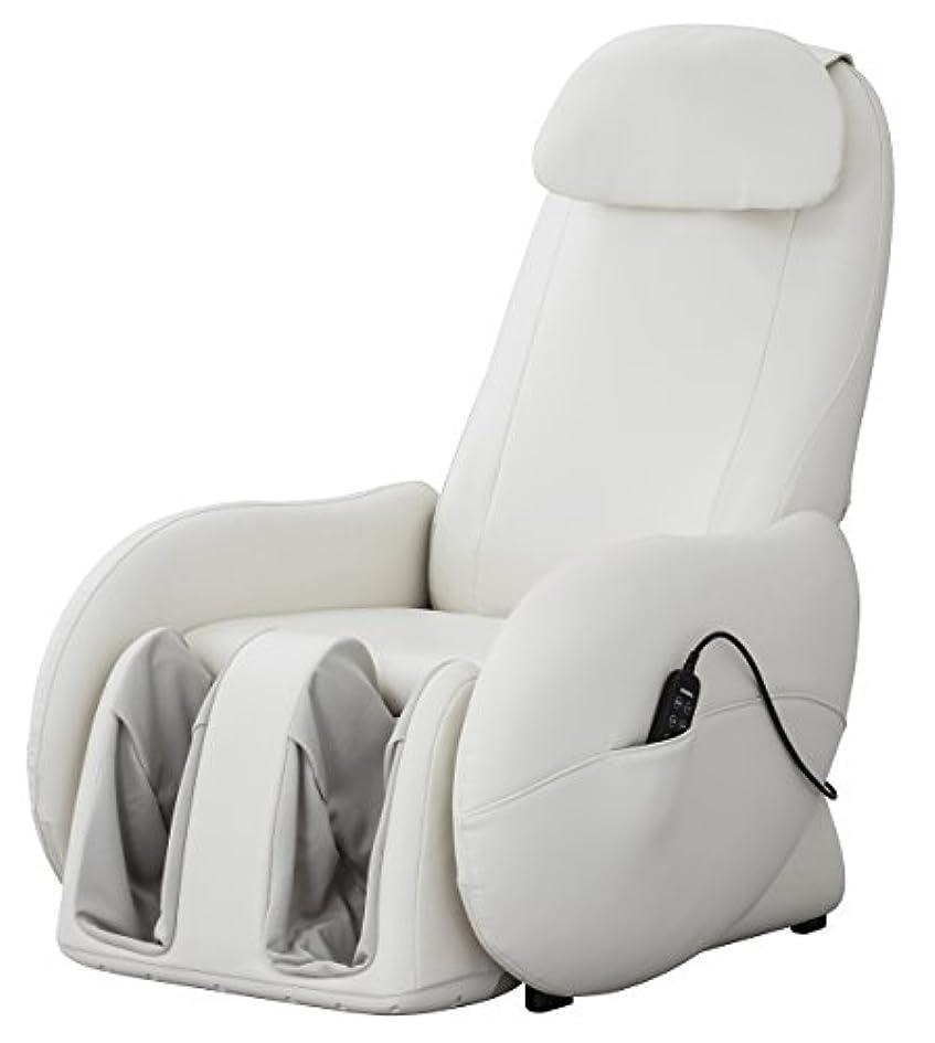 ユダヤ人博物館閃光スライヴ くつろぎ指定席Light マッサージチェア CHD-3700WH ホワイト 正規品 おしゃれ コンパクト 小型