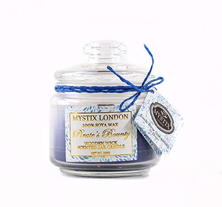 マルコポーロパン屋同行するMystix London | Pirate's Bounty Wooden Wick Scented Jar Candle 200g