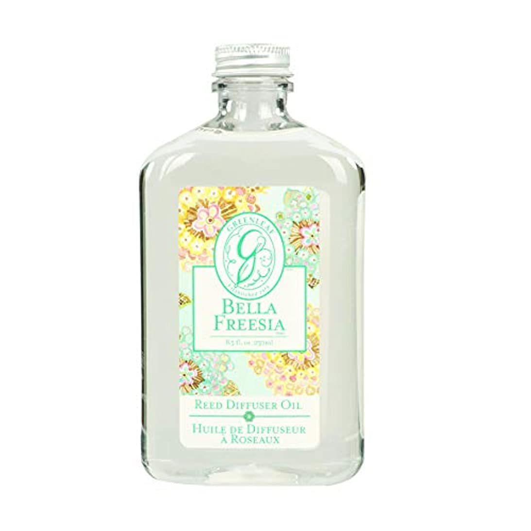 第三口述するインテリアGREEN LEAF REED DIFFUSER OIL REFILL BELLA FREESIA