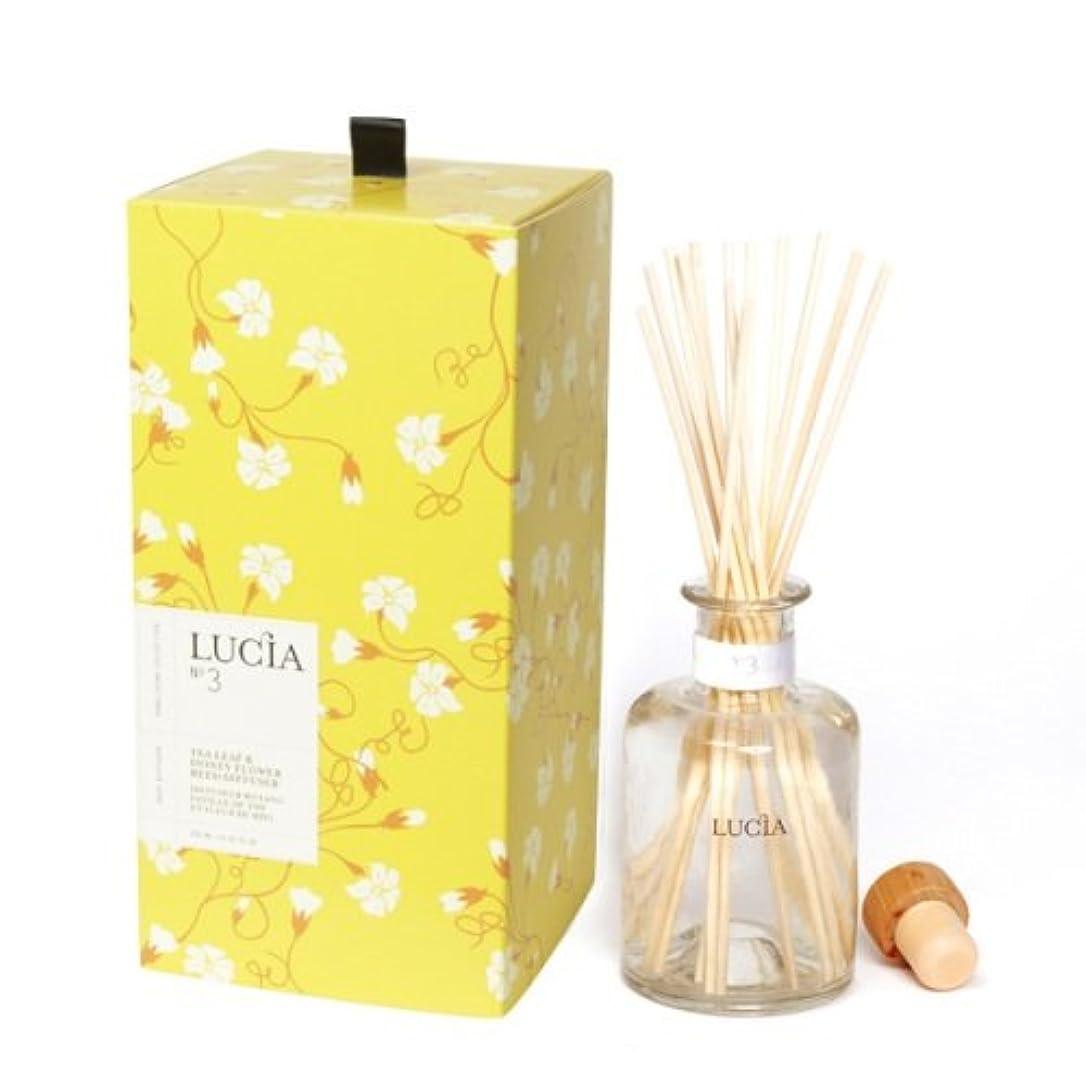 密来て除去LUCIA Collection ルームディフューザー No.3 ティー(茶葉)&ワイルドハニー Tea Leaf&Wild Honey Room Diffuser ルシア コレクション ピュアリビング Pureliving