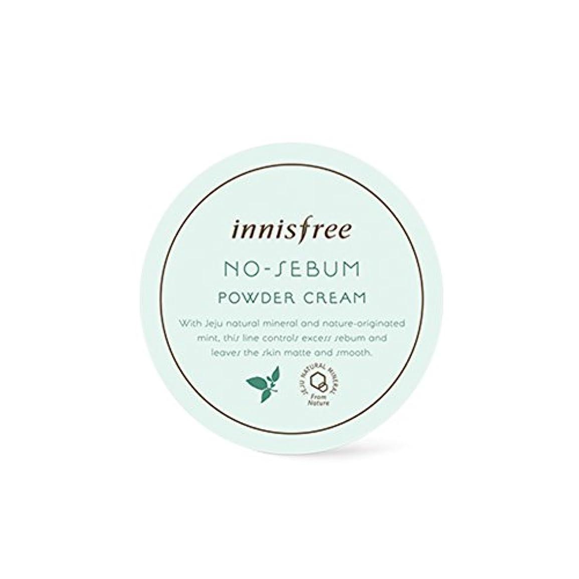 リファイン壁紙持っているイニスフリー[ Innisfree ]ノー皮脂パウダークリーム25g、油性スキンケア、オイルコントロール用[No-Sebum Powder Cream 25g, for Oily Skin Care, Oil Control...