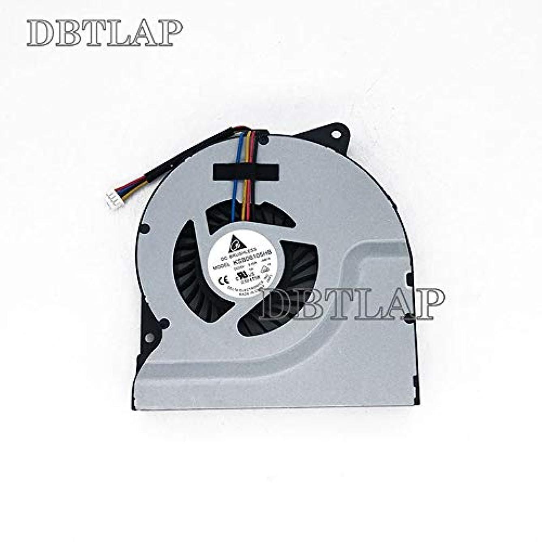 リンス郵便物ステップDBTLAP CPU冷却ファン ASUS N53JF N53 N53SV N53J N73JN K73E N73SV N53T N53S N75S CPUファン