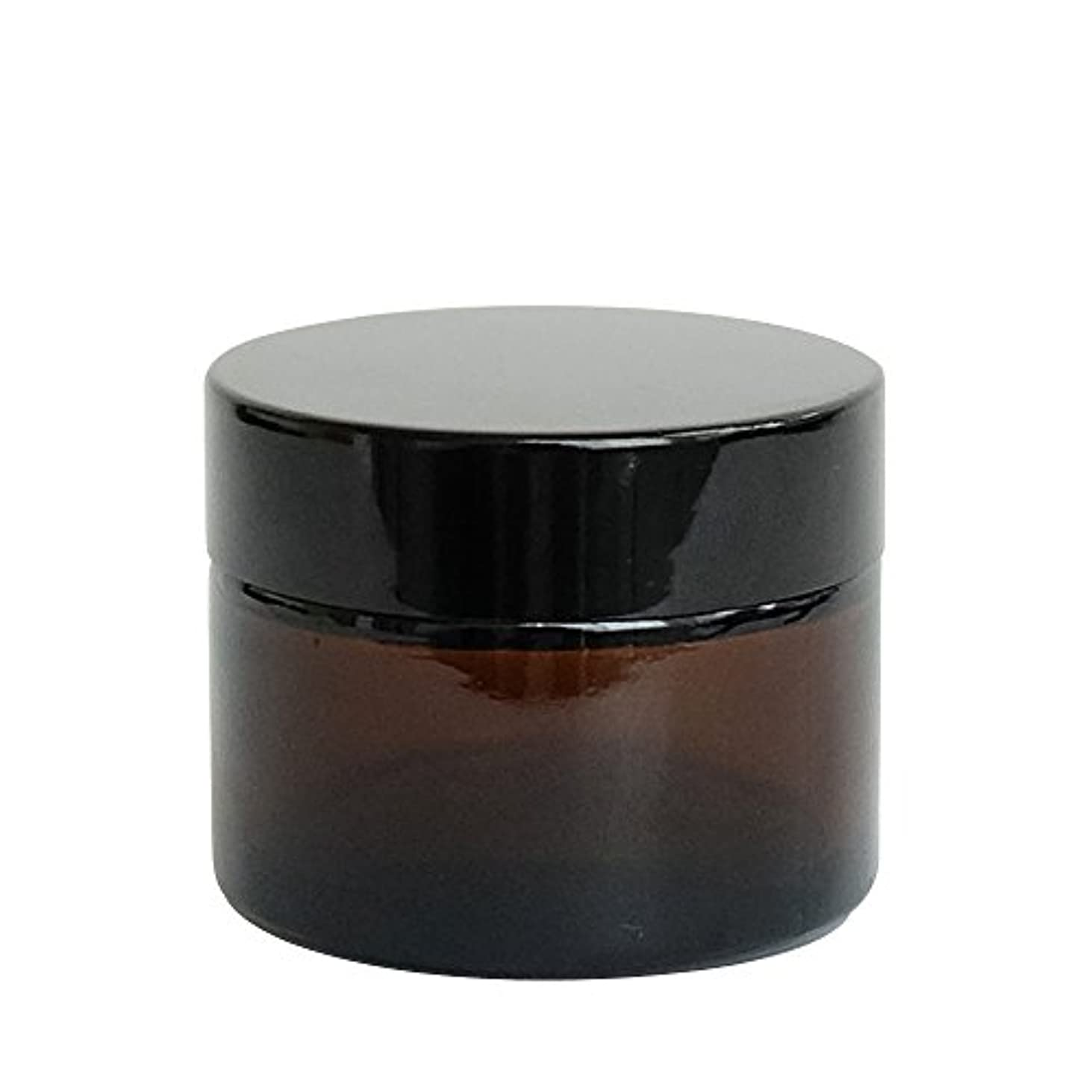 サイドボード良さバルセロナease 遮光ジャー 茶色 50g用×10個