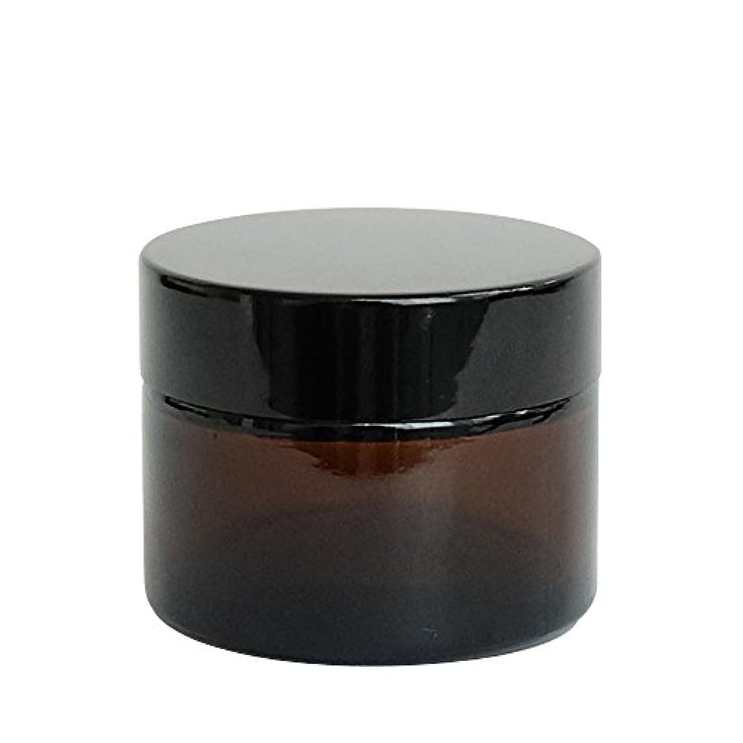 チャンバーひらめき行進ease 遮光ジャー 茶色 50g用×10個