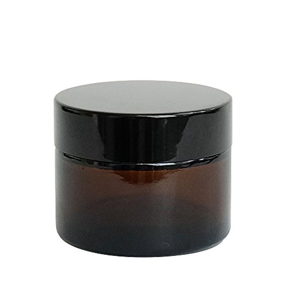 旧正月石膏かどうかease 遮光ジャー 茶色 50g用×30個