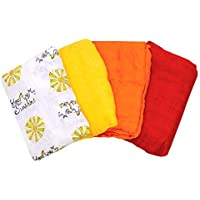 Nicki's Diapers 1 Layer Bamboo Blankets - 4 Pack (You Are My Sunshine Pack) [並行輸入品]