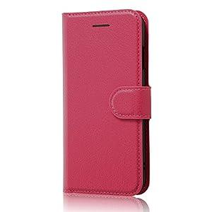 レイ・アウト iPhone7 ケース 手帳型 ケース シンプル マグネット (カード収納×3 / スタンド機能) ピンク RT-P12ELC1/P