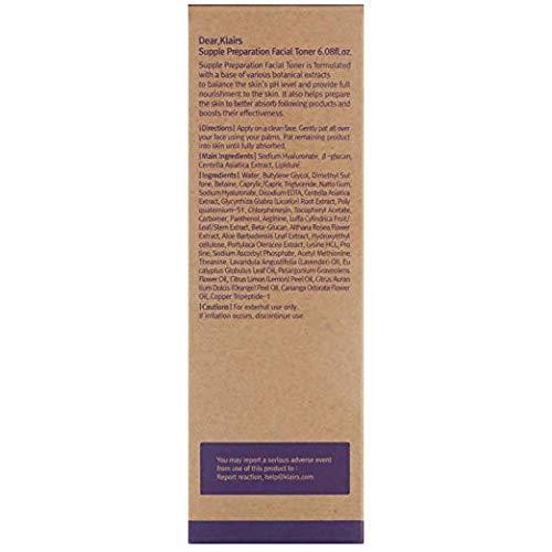 『【クレアス(Klairs)】サプルプレパレーションフェイシャルトナー, Supple Preparation Facial Toner, 180ml, [並行輸入品]』の3枚目の画像