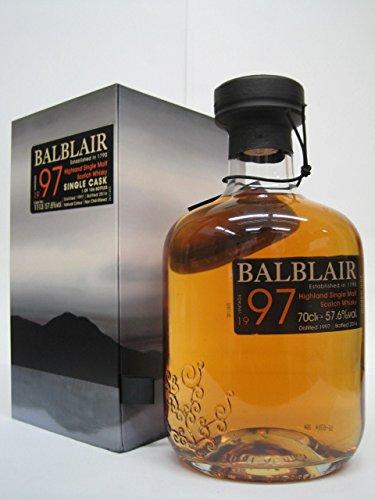 バルブレア 1997 シングルカスク 正規品 57.6度 700ml
