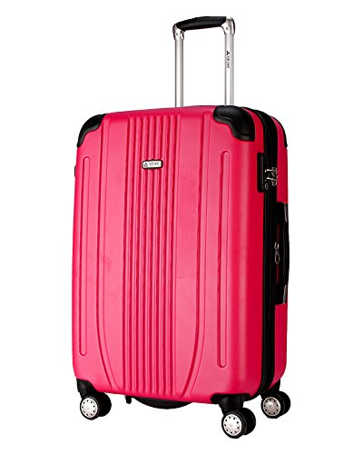 S型 ローズ/A-561 ダブルキャスター スーツケース キャリーケース TSAロック 軽量