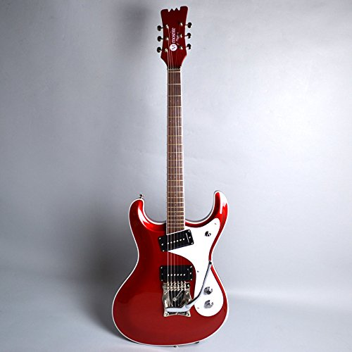 mosrite Super Custom 63 / Metallic Red エレキギター (モズライト) 限定特価 ハードケース付き