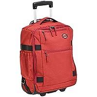 エンドー鞄 Spasso STEP2 スパッソ ステップ2 リュックキャリー リュックサック キャリーバッグ 機内持ち込み 杢調アカ 1-030-RD