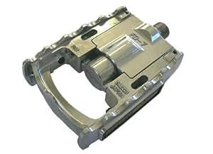 MKS(三ヶ島) エフディーセブン [FD-7] 折り畳み式ペダル シルバー