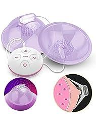 充電式Ni-ppleマッサージャー胸胸部刺激装置エンハンサー玩具女性、小売ボックス付き10スピードスピードモード電動ポンプ吸盤