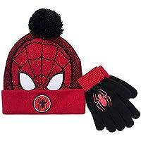 Spider-Man Boys Hat and Gloves Winter Set