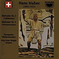 Symphony Nos. 1 & 7 by HUBER HANS (2001-11-27)